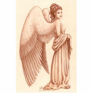 Angel Woman Standing Photo Sculpture