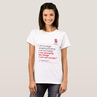 Angela Davis Quote T-Shirt