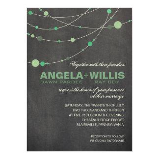 Angela Stylish Strands | chalkboard mint FELT Card