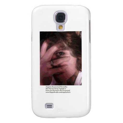 Angela's Paranormal Normality Samsung Galaxy S4 Covers