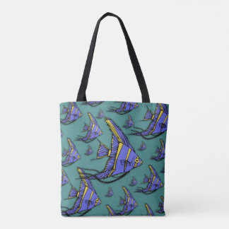 Angelfish #2 tote bag
