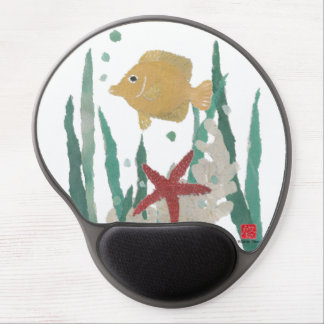 Angelfish and Starfish Tropical Mousepad