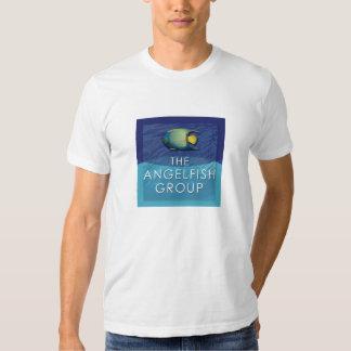 Angelfish Logo-White T-Shirt