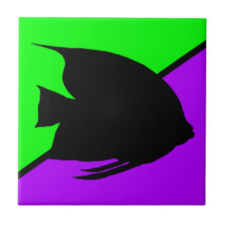 Angelfish Small Square Tile