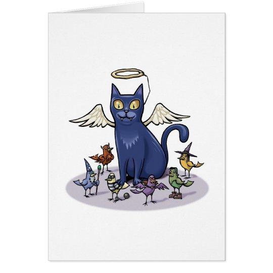 Angelic Cat Card