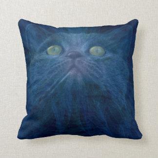 Angelic cat cushion