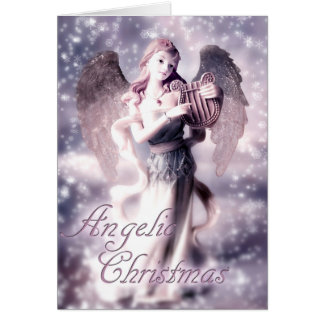 Angelic Christmas Card