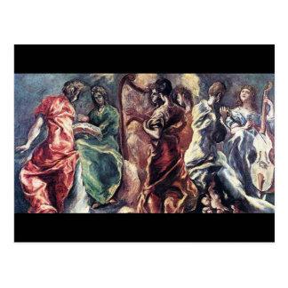 Angelic Concert by El Greco ( Theotokopoulos) Postcard