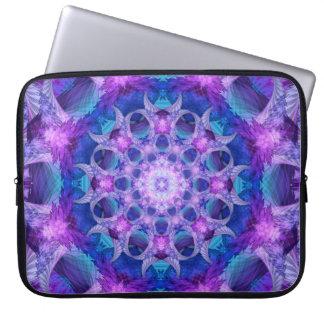 Angelic Gateway Mandala Laptop Computer Sleeve