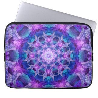 Angelic Gateway Mandala Laptop Computer Sleeves