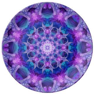Angelic Gateway Mandala Plate