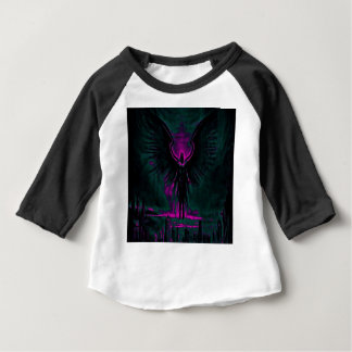 Angelic Guardian Purple and Teal Baby T-Shirt