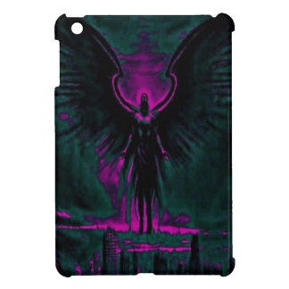 Angelic Guardian Purple and Teal iPad Mini Cases