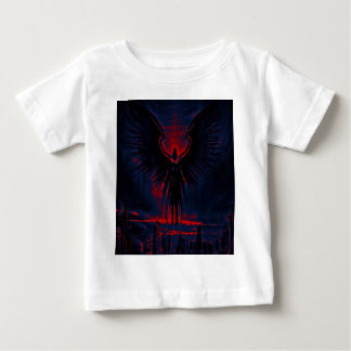 Angelic Guardian Red and Blue Baby T-Shirt
