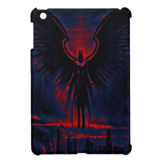 Angelic Guardian Red and Blue iPad Mini Covers