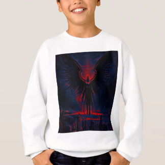 Angelic Guardian Red and Blue Sweatshirt