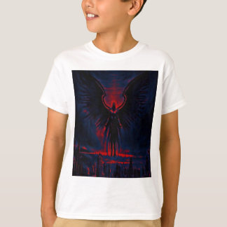 Angelic Guardian Red and Blue T-Shirt
