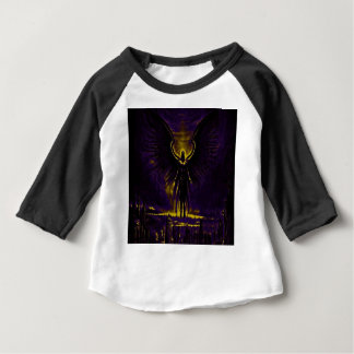 Angelic Guardian Yellow and Purple Baby T-Shirt