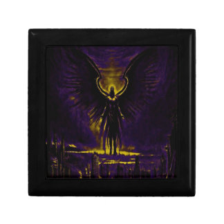 Angelic Guardian Yellow and Purple Gift Box