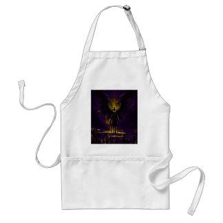 Angelic Guardian Yellow and Purple Standard Apron
