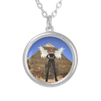 Angelic Help and Guidance Silver Locket & Chain