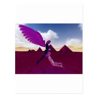 Angelic hugs postcard