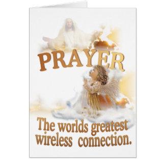 Angelic Prayer Worlds Greatest Wireless Connection Card