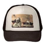 Angelic Pug Cherub Gift Items Cap