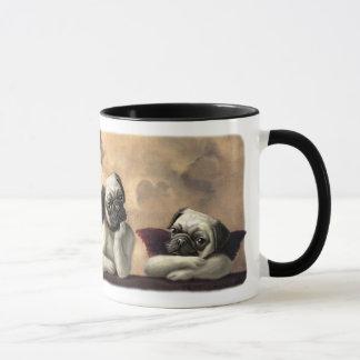 Angelic Pug Cherub Gift Items Mug