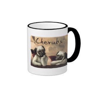 Angelic Pug Cherub Gift Items Coffee Mug
