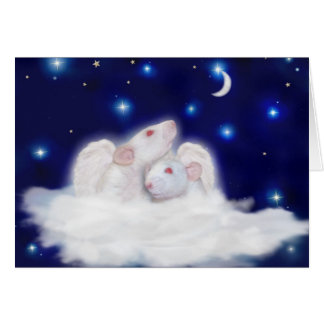 Angelic Ratties Sympathy Card
