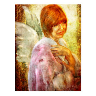 Angelic Repose Postcard
