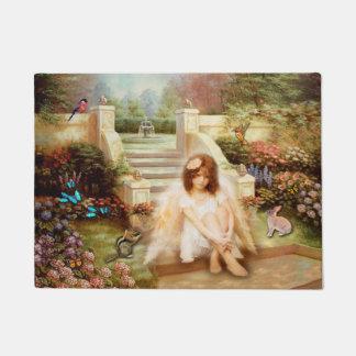Angelic Serenity Garden Door Mat