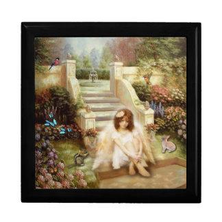 Angelic Serenity Garden Gift Jewelry Box