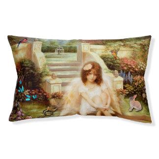Angelic Serenity Prayer Inspirational Pet Pillow