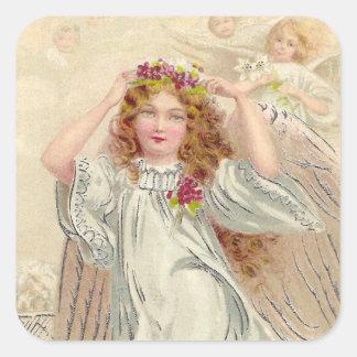 Angelic Square Sticker