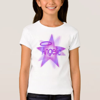 Angelic Star - Girls Baby Doll (Fitted) T-Shirt