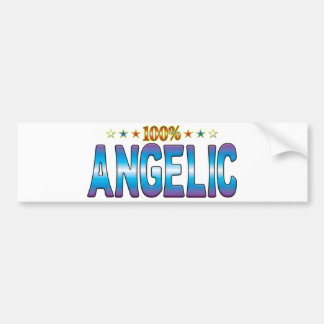 Angelic Star Tag v2 Bumper Sticker