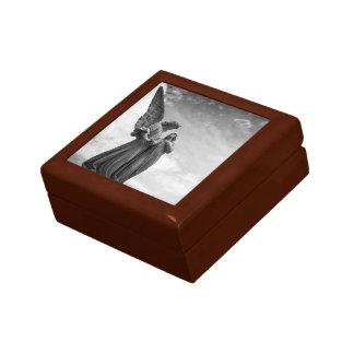 Angelic Statues Wooden Keepsake Box