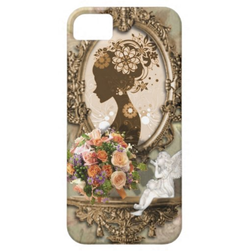 Angelic Vintage Diva design Case For The iPhone 5