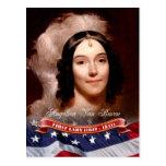 Angelica Van Buren, First Lady of the U.S. Postcard