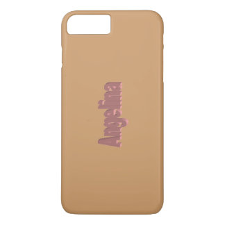 Angelina Full Brown iPhone 7 Plus case