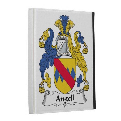 Angell Family Crest iPad Folio Cases