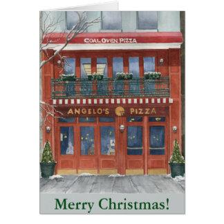 Angelo's Pizza NYC Christmas Card