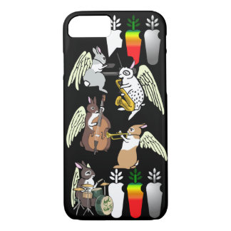 AngelRabbits Jazz Quintet iPhone 8/7 Case