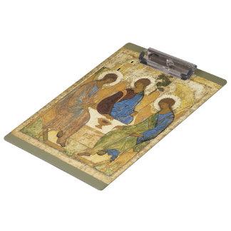 Angels At Mamre Trinity Clipboard