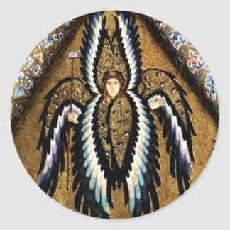 Angels By Meister Von Cefalã¹ (Best Quality) Classic Round Sticker