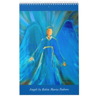 Angels Calendar by Robin Maria Pedrero