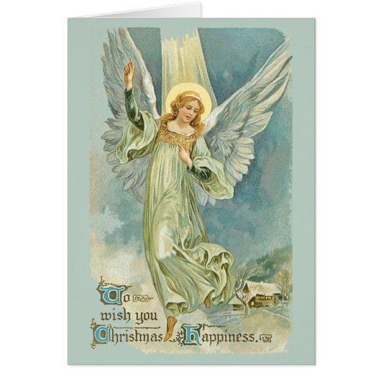 Angels Came Down at Christmas Card