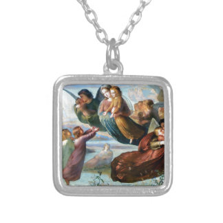 Angels Christianity Religion Painting Necklaces